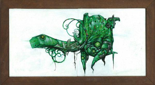 Groene Schildpad © Serge Kortenbroek