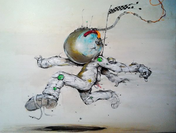 Spaceman © Serge Kortenbroek