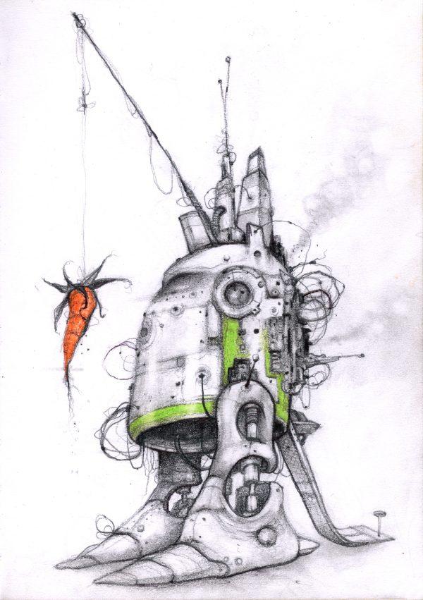 Robot met Peen © Serge Kortenbroek