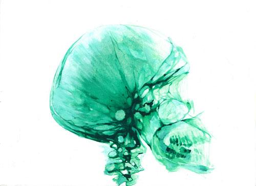 Röntgen Skull © Serge Kortenbroek