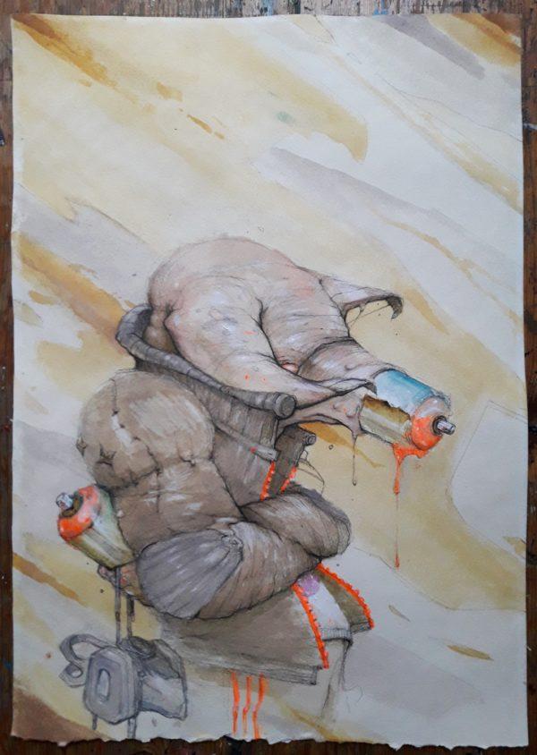 graffiti © Serge Kortenbroek