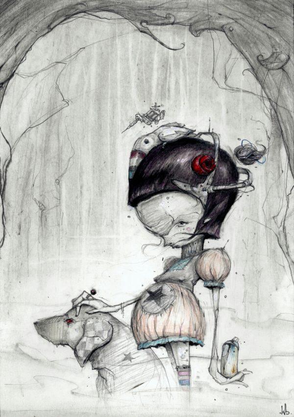 book cover for 'Walls and Skin' tattoo shop © Serge Kortenbroek